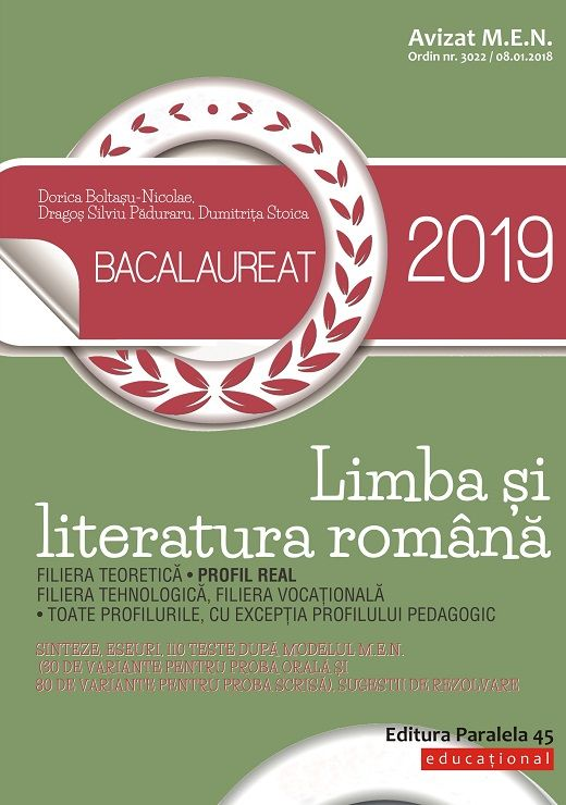 BACALAUREAT 2018 LIMBA SI LITERATURA ROMANA PROFIL REAL ...