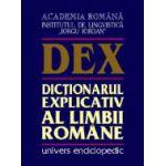 DEX-Dictionarul explicativ al limbii romane