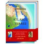 Set Atlasul Terrei si Atlas de istorie a lumii