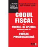 Codul fiscal cu Normele de aplicare si Codul de procedura fiscala. Culegere de acte normative.Este actualizat la data de 14.03.2011..