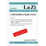 Codul familiei si legile conexe (actualizat la 15.02.2011). Cod 429