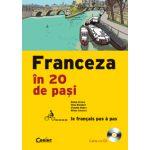 FRANCEZA IN 20 DE PASI (carte cu CD)