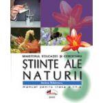 Stiinte ale naturii – manual, clasa a III-a