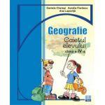 Caiet de geografie clasa a IV-a