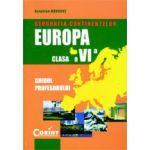 GEOGRAFIA CONTINENTELOR-EUROPA. Manual clasa  a VI-a