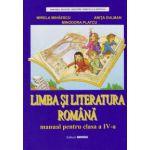 Limba si literatura romana. Manual pentru clasa a IV-a