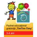 PACHET EDUCATIONAL GRADINITA TIMTIM-TIMY, 3-4 ANI