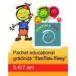PACHET EDUCATIONAL GRADINITA TIMTIM-TIMY, 5-6/7 ANI