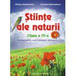 Stiinte ale naturii  Clasa a IV-a