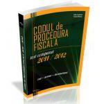 Codul de Procedura Fiscala 2011-2012 cod+norme+instructiuni