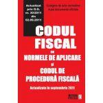 Codul fiscal cu Normele de aplicare si Codul de procedura fiscala Culegere de acte normative