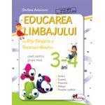 Educarea limbajului cu Rita Gargarita si Greierasul Albastru - (caiet) grupa mica 3-4 ani