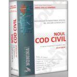 NOUL COD CIVIL REPUBLICAT IN 2011 - Editie cartonata, interior cusut