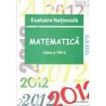 Evaluare Nationala 2012 Matematica