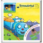 Trenulețul Carte cu șină și trenuleț
