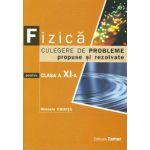 Bacalaureat 2013 Fizica. Culegere de probleme propuse si rezolvate pentru clasa a XI-a