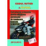 Curs practic şi teoretic pentru obţinerea permisului de conducere pentru scutere şi mopede - categoria AM  2012-2013