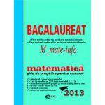 Bacalaureat  2013 Matematica M1