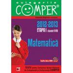 CULEGERILE COMPER 2013 . MATEMATICA. CLASELE V-VIII. ETAPA I