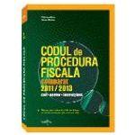 Codul de Procedura Fiscala Comparat  2011 - 2013. Actualizat Februarie 2013 - Nicolae Mandoiu