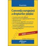 Conventia europeana a drepturilor omului actualizat 20 februarie 2013