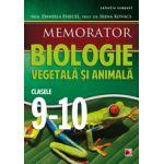 MEMORATOR DE BIOLOGIE ANIMALA SI VEGETALA  2014 PENTRU CLASELE IX-X