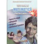 Teste Grila Matematica clasele I - IV - lucru la clasa, olimpiade, cangurul, concursuri scolare - Schneider