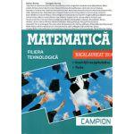 BACALAUREAT 2014 Matematica - Filiera Tehnologica - Exercitii Recapitulative - Teste