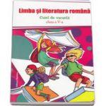 Limba si literatura romana. Caiet de vacanta clasa a V-a
