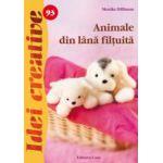 Animale din lână filţuită - Idei creative 93