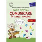 Caiet special de comunicare in limba romana