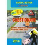 Chestionare pentru Obţinerea Permisului de Conducere Auto  2014 - categoria B
