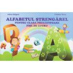 Alfabetul strengarel pentru clasa pregatitoare, fise de lucru