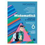 Matematică. Exerciţii şi probleme pentru clasa a VI-a, semestrul II