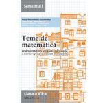 Teme de matematică 2015 Clasa a VII-a Semestrul I