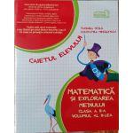 Matematica si Explorarea Mediului - Caietul Elevului - Clasa II - Partea 2