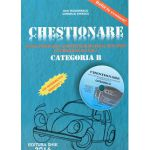 Chestionare Categoria B 2015 - Pentru verificarea cunostintelor de legislatie rutiera si intrebari de mecanica (contine CD)