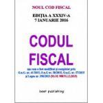 Noul Cod fiscal format A5 - editia a XXXIV-a - 7 IANUARIE 2016