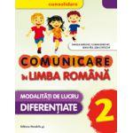 COMUNICARE IN LIMBA ROMANA CONSOLIDARE2016. MODALITATI DE LUCRU DIFERENTIATE. CLASA A II-A