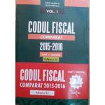 Codul Fiscal Comparat 2015-2016 (cod+norme) Ed. a 2-a - Aprilie 2016