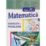 Matematica pentru clasa a V-a - Exercitii si probleme - Marius Burtea