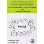 Performanta in Limba Romana prin Concursul Euclid - clasa a II-a - Editia 2015-2016 - Laura-Roxana Alexandru