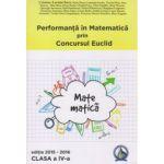 Performanta in Matematica prin Concursul National Euclid - clasa a IV-a - editia 2015-2016 - Cristina-Lavinia Savu