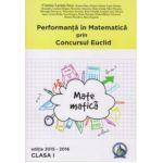 Performanta in Matematica prin Concursul National Euclid - clasa a I-a - editia 2015-2016 - Cristina-Lavinia Savu