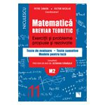 Matematică clasa a XI-a (M2). Breviar teoretic cu exerciţii şi probleme propuse şi rezolvate. Teste de evaluare 2016
