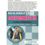 Bacalaureat 2017 Matematica - Filiera tehnologica - Exercitii recapitulative - Teste (gri)