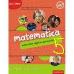 Matematica 2018 - 2019 Consolidare - Aritmetica, Algebra, Geometrie - Clasa A V-A - Caiet de lucru - Semestrul I