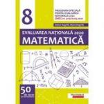 Evaluarea Națională 2020 Matematică - Clasa a 8-a - 50 de teste de antrenament - conform programei speciale pentru Evaluarea Națională 2020, aprobate prin O. M. E. C. nr. 4115/10. 04. 2020