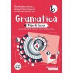 Gramatică - Fișe de lucru 2020 - 2021 - pe lecții și unități de învățare cu itemi și teste de evaluare - Clasa a VI-a