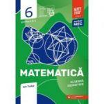 Matematica 2020 - 2021 - Initiere - Algebra, Geometrie - Clasa A VI-A - Caiet de lucru - Semestrul 2 - Partea II